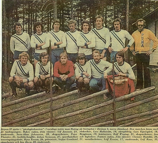 Järpens IF 1975