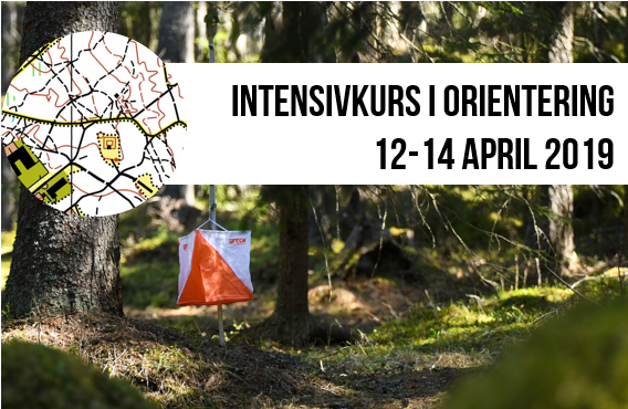 Intensivkurs i orientering 12-14 april 2019