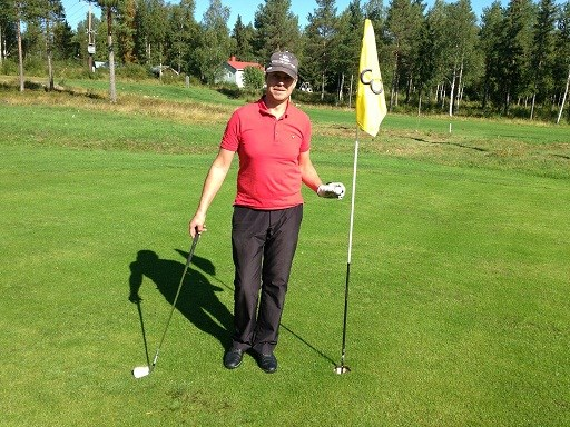 Peter Larsson Hole in one hål 3
